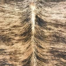 south american brindle brazilian cowhide rug for