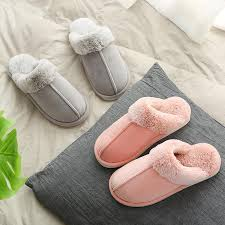 2018 women indoor floor shoes female warm home slippers pu leather house slippers for women shoes pantufas de pelucia o dress shoes wedge shoes from