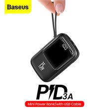 <b>Портативное зарядное устройство Baseus</b> Mini, 10000 мАч, USB ...