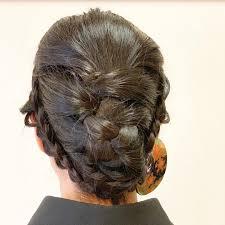 色留袖黒留袖に似合う結婚式の髪型11選40代のショートヘア向けも Cuty