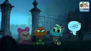 the amazing world of gumball haunted house prank creepy invitation cartoon network games