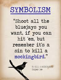 To Kill A Mockingbird Literary Terms Chart Key Literary Terms Mini Quote Posters Set Of 8