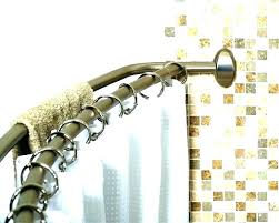 polished nickel shower curtain rod classic traditional polished nickel shower rod best tension shower rods wooden