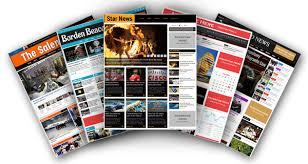 Newspaper Article Template Free Online Newspaper Software Online Newspaper Website Template Magazine