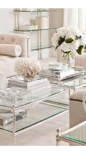 absolutely glass coffee table decor top best 25 idea on wood with silver and uk ikea set decorating argo canada round