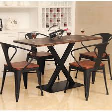 american country vintage wrought iron wrought iron wood dining table wood dining table dinette table and american country wrought iron vintage desk