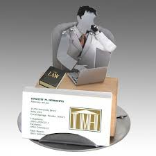 attorney business card holder for desk