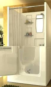 walk in bathtubs with shower walk in tub shower knee tubs tiny houses and walk in