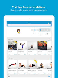 workout trainer fitness coach on the