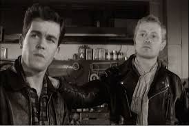 colin campbell dudley sutton the leather boys 1964 shock