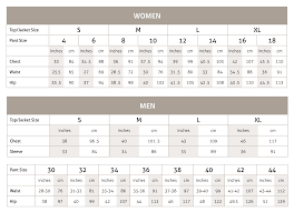 Meister Ski Sweater Sizing Chart