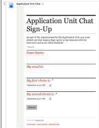 Sign Up Sheet Template Google Docs Sign Up Sheet Using Google Forms