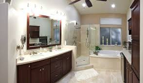 cost to remodel master bathroom. Master Bathroom Remodel Ideas With Brown Cabinets Colors And Ceiling Fans Cost To :