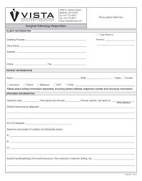 How To Submit A Specimen Vista Pathology Laboratory