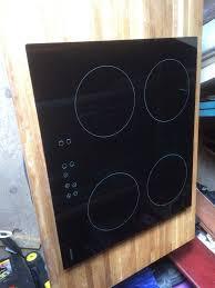 cookology induction hob cip613 590mm x 520 mm