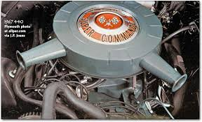 mopar chrysler dodge plymouth rb series v8 engines 383 413 1967 plymouth 440 super commando
