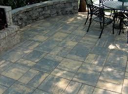 patio stones. Perfect Patio Black Sand With Patio Stones I