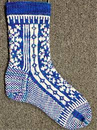 Sock Patterns Inspiration Snowflake Sock Pattern