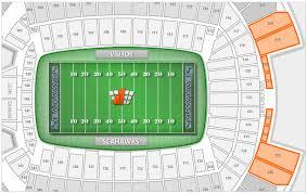 Seattle Seahawks Centurylink Field Seating Chart