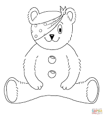 Small Picture Children In Need Mascot coloring page Free Printable Coloring Pages