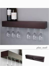 gorgeous 49 perfect wall mounted glass rack ideas snaps wine glass rack shelf hanging bunnings