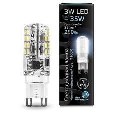 <b>Лампа</b> светодиодная <b>gauss 107709203</b>, <b>G9</b>, JCD, 3Вт — купить по ...
