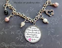 wedding gifts for bride from sister maid of honor bridesmaid by heart silver bracelet set pink wedding gifts for bride