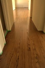 4 the common red oak floor i mentioned last week is done with a mixed stain of coffee brown and e brown