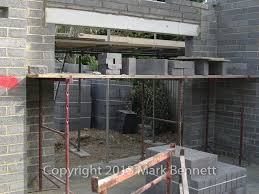 adjusted lintel height for a bifold door