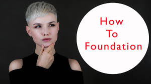 egle bee tutorial on how to apply foundation
