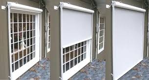 motorized sun shades for windows gain protection exterior roller