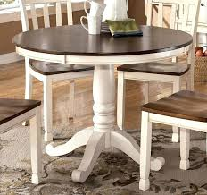 white round table set exciting dining chair styles with additional best white round dining table ideas
