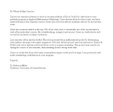 Writing A Letter Of Recommendation For Yourself Sample
