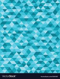 Blue Pattern Background Amazing Blue Triangle Pattern Background Royalty Free Vector Image