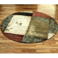 5 ft round rug area rugs decorative 7 foot diameter kitchen grey jute