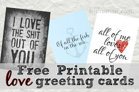 Free Printable Anniversary Cards For Her Mesmerizing All Of Me Loves All Of You Three Free Printable Greeting Cards