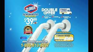 power scrubber commercial no back breaking scrubbing ispot where to clorox scrubtastic
