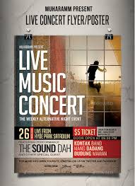 Free Music Poster Templates 45 Premium And Free Concert Flyer Psd Templates For Music