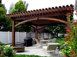 patio with fire pit and pergola. 55 Best Backyard Retreats With Fire Pits, Chimineas, Pots \u0026 Bowls. Pergola DesignsPatio Patio Pit And 9