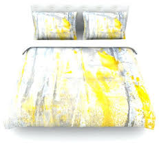grey duvet cover twin abstraction gray yellow cotton duvet cover twin grey and white duvet cover
