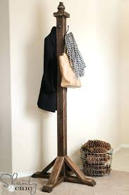 How To Make A Standing Coat Rack Enchanting Diy Standing Coat Rack Creative Coat Racks O A Round Up Of Some