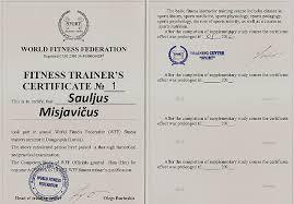 Учебный центр world fitness federation получение сертификата тренера по фитнесу