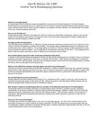 Insurance Agent Job Description For Resume Enchanting Enrolled Agent Resume Sample Free This Is Insurance Agent Resume