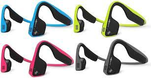 Aftershokz Trekz Titanium Wireless Headphones With Dual Mic