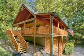 Lucky Logs Lodge Cabin Rental Photo