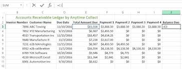 Accounts Receivable Tracking Template