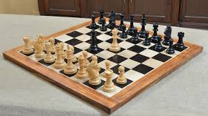 Wooden Box Board Games Combo of 100 Bridle Series Luxury Chess Set with Wooden Board in 63