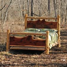 cheap rustic bedroom furniture log square frame wall mirror beautiful wooden interior wall bed side table beautiful mirrored bedroom furniture