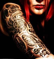 35 Amazing Bio Mechanical Tattoo Designs Examples Lava360