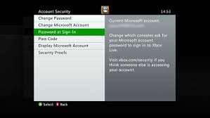 office 360 login password protect your xbox live profile change sign in preferences